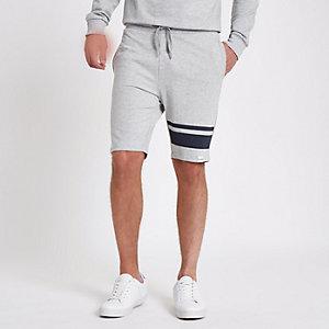 Only & Sons – Weiße, gestreifte Shorts