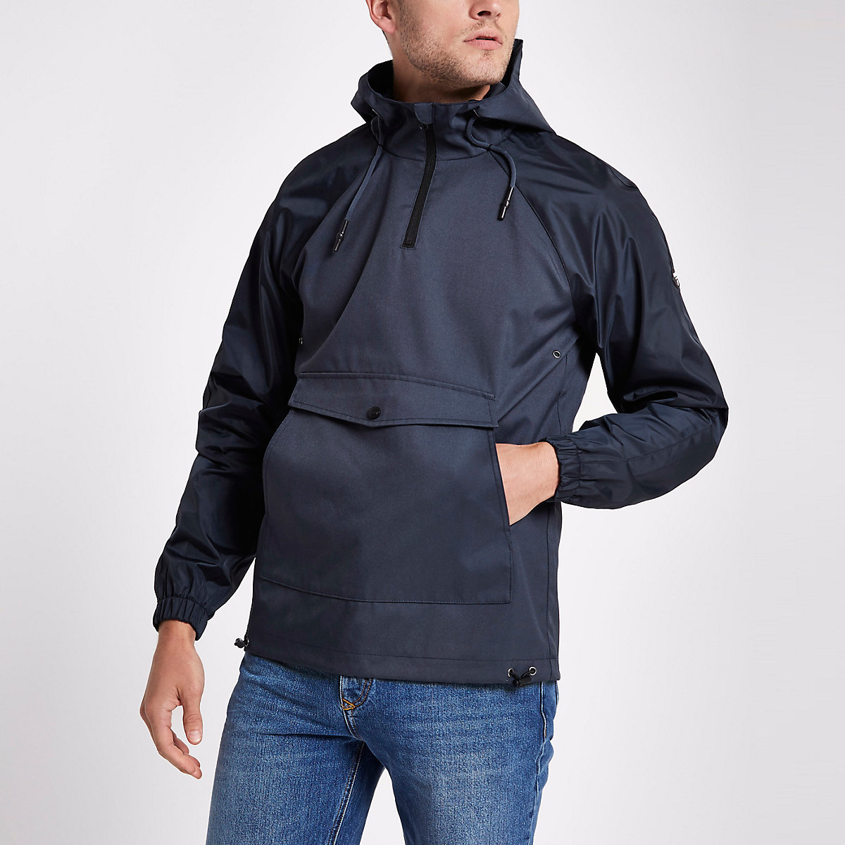 Only & Sons blue anorak jacket