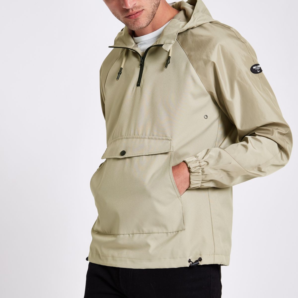 Only & Sons grey anorak jacket