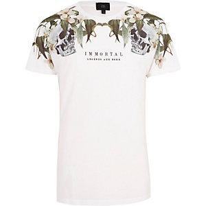 """Weißes T-Shirt """"immortal"""""""