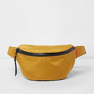 Mustard yellow sports bumbag