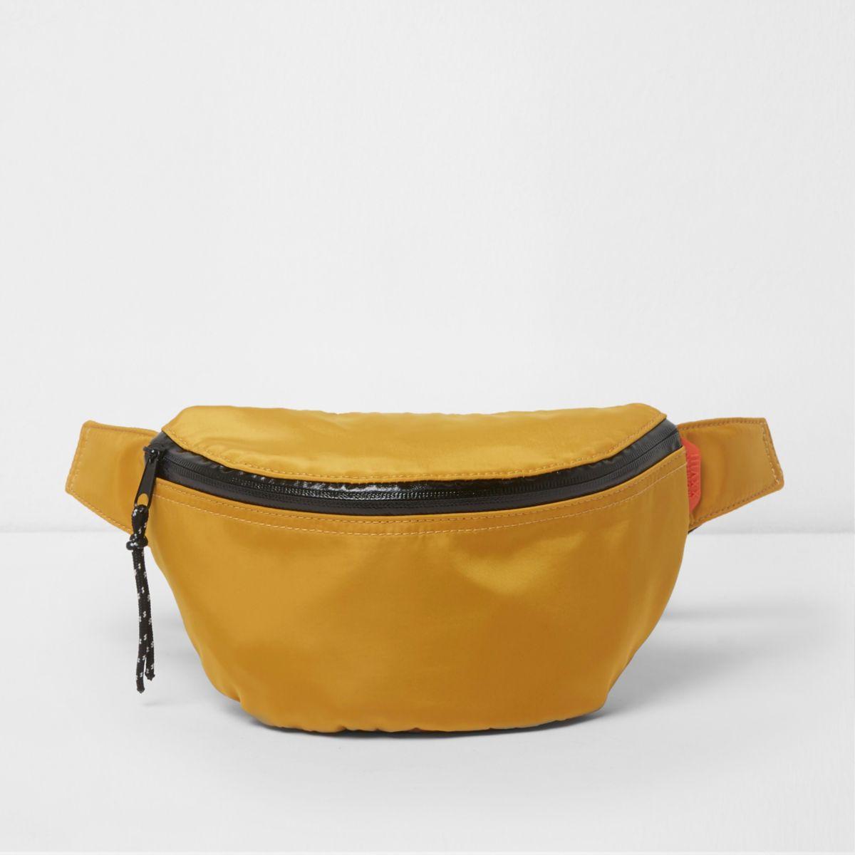 Mustard yellow sports bumbag