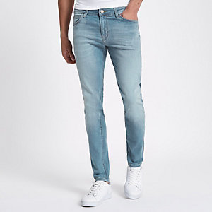 Lee - Malone - Lichtblauwe skinny-fit jeans