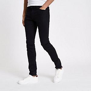 Lee – Schwarze Skinny Fit Jeans