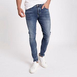 Danny – Jean super skinny stretch bleu moyen