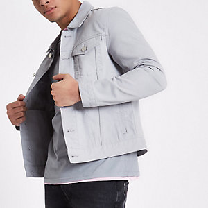 Light grey denim jacket