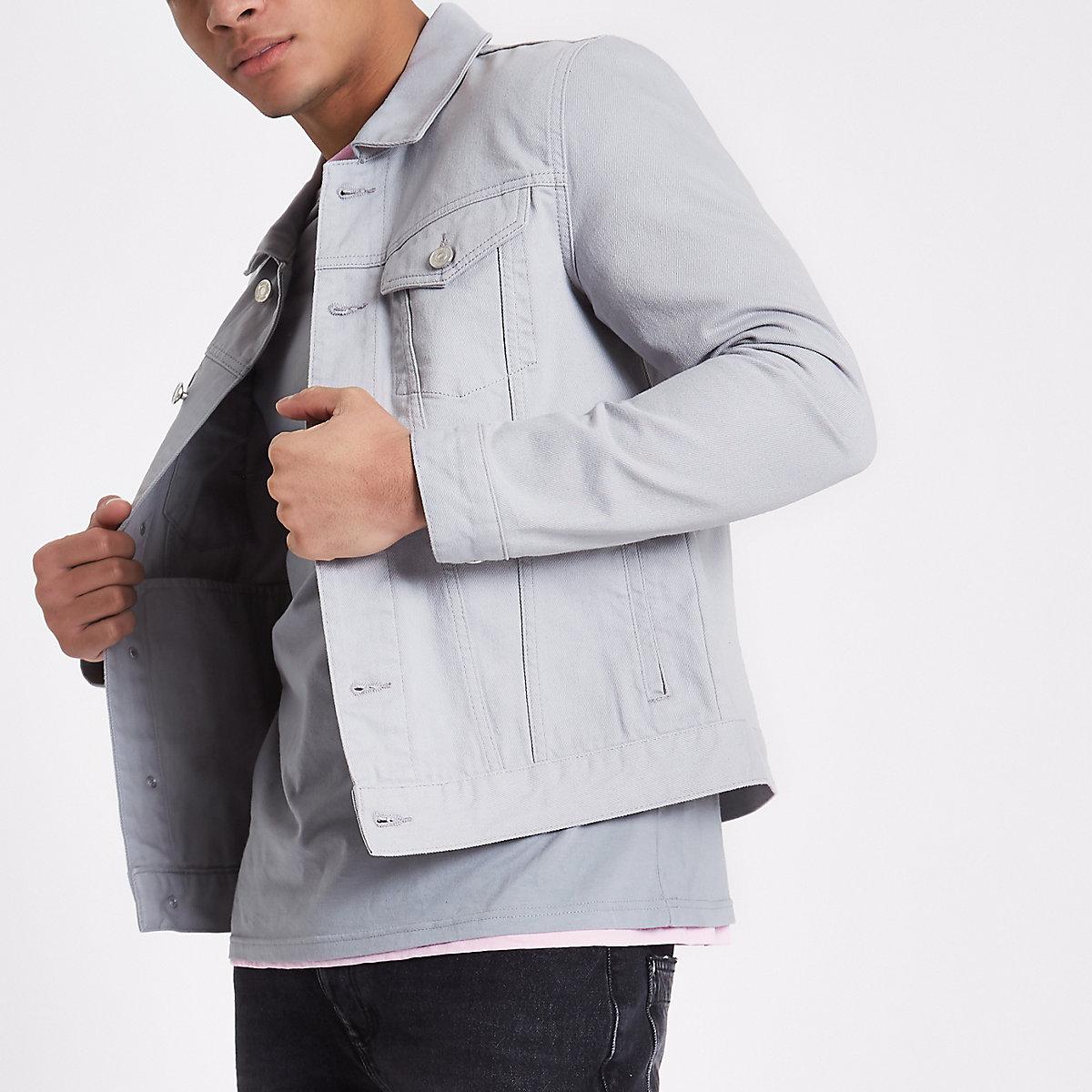 Light grey denim jacket