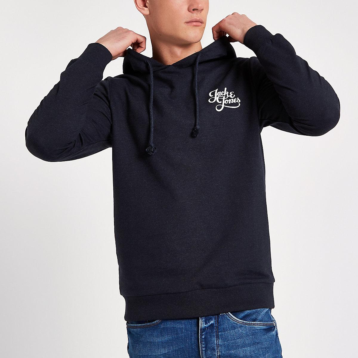 Jack & Jones Originals navy hoodie