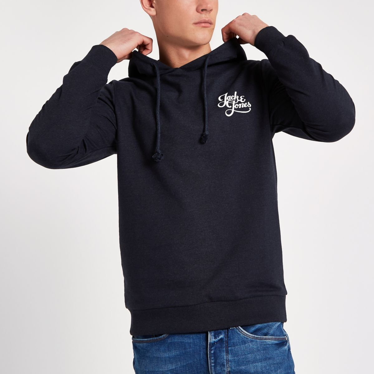 Jack & Jones Originals navy hoodie