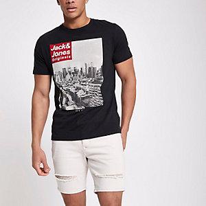 Jack & Jones Originals – Schwarzes T-Shirt
