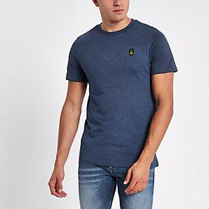 Jack & Jones Originals blue crew neck T-shirt