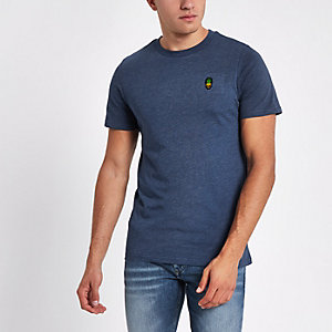 Jack & Jones Originals - Blauw T-shirt met ronde hals