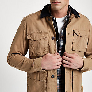 Jack & Jones Originals – Steingraue Jacke