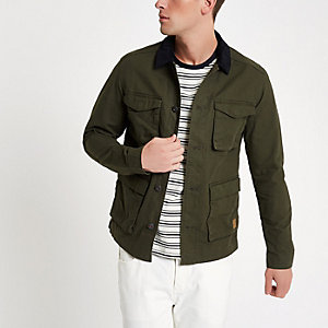 Jack & Jones Originals – Grüne Jacke