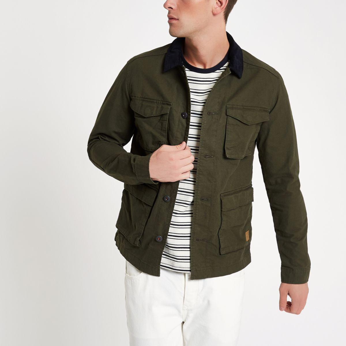 Jack & Jones Originals green field jacket