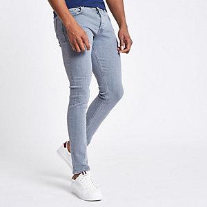 Eddy - Grijze skinny jeans