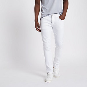 Sid - Witte skinny-fit jeans