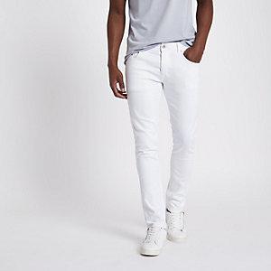 Eddy - Witte skinny-fit jeans