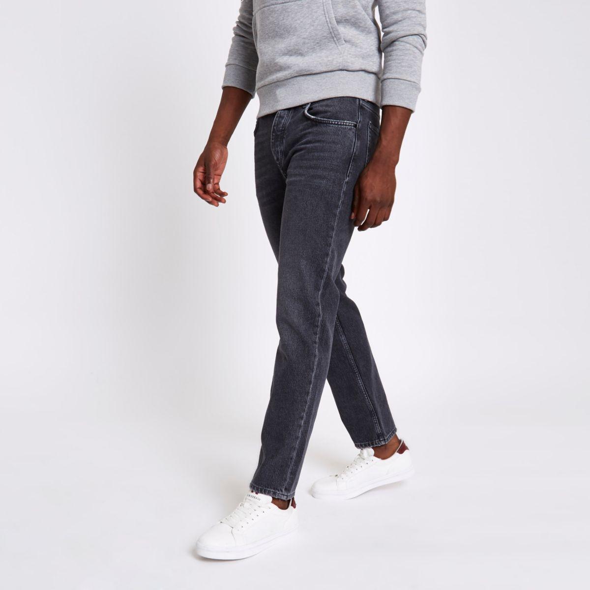 Grey Bobby standard jeans