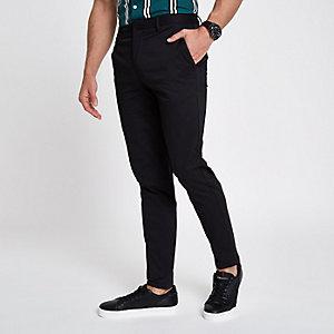 Zwarte skinny-fit chino