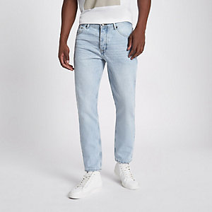 Light blue Jimmy slim fit tapered jeans