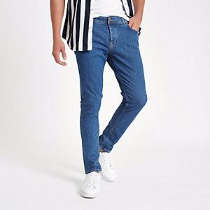 Eddy - Middenblauwe skinny stretch jeans