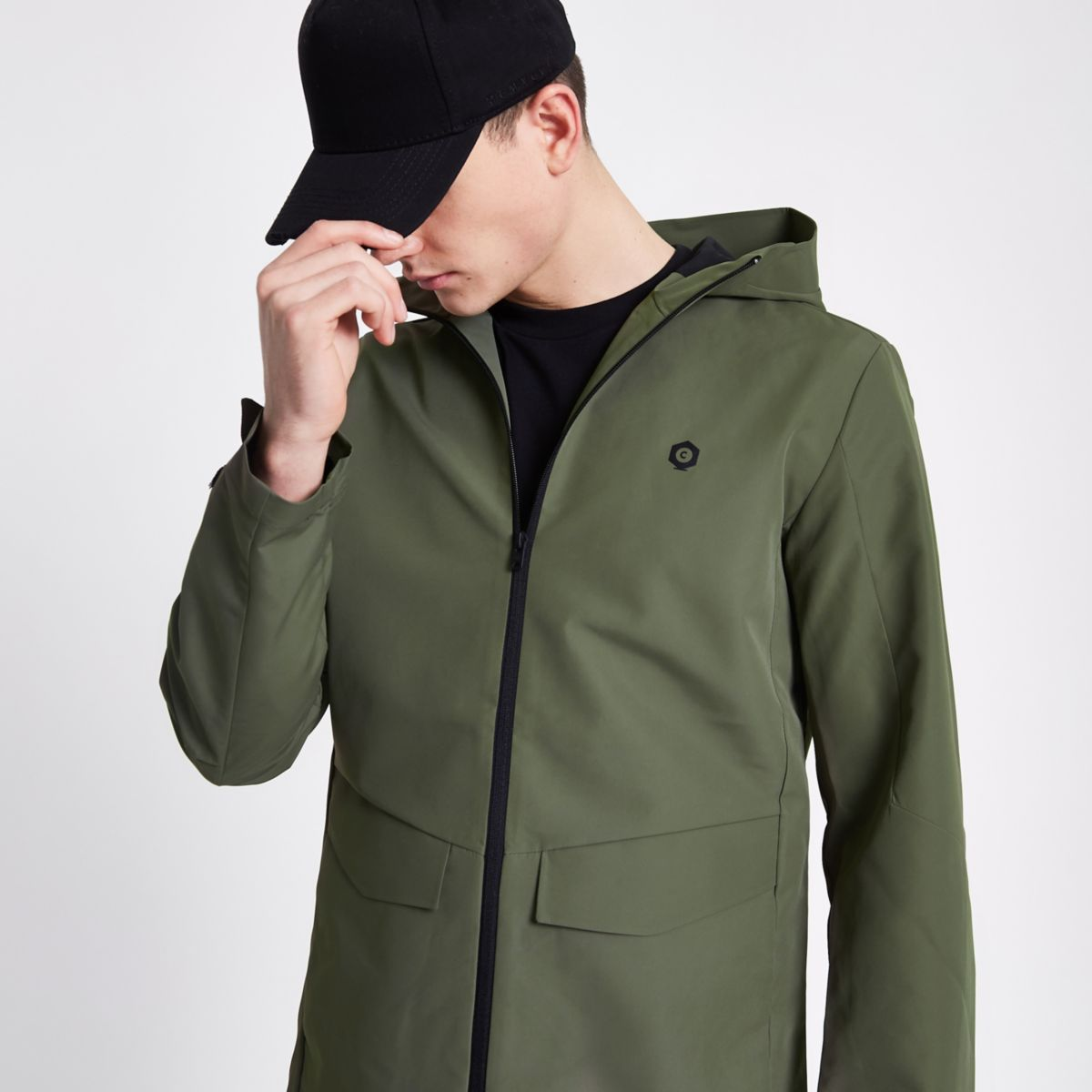Jack & Jones Core green lightweight jacket