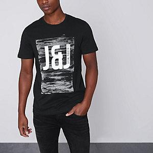 Black Jack & Jones Core print T-shirt