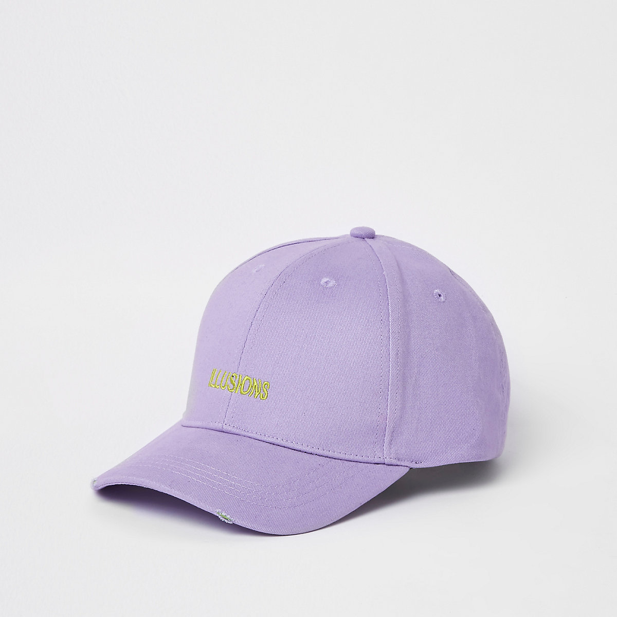 Purple 'illusions' baseball cap