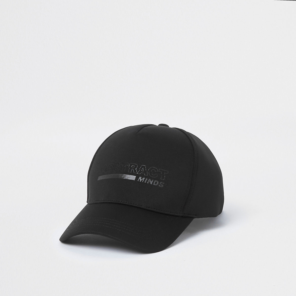 Black scuba 'abstract' baseball cap