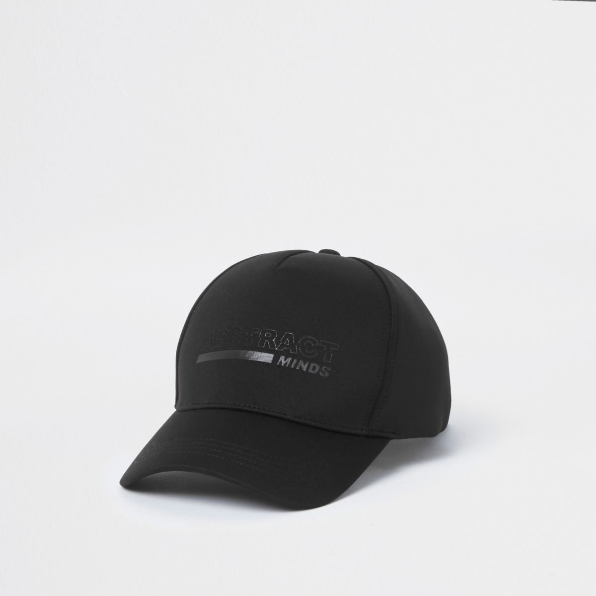 Black scuba 'abstract' baseball cap
