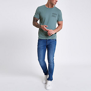 Jack & Jones Core - Grijs T-shirt met logo
