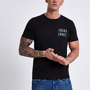 Jack & Jones Core – T-shirt imprimé logo noir