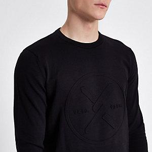 Jack & Jones Core - Zwarte gebreide pullover