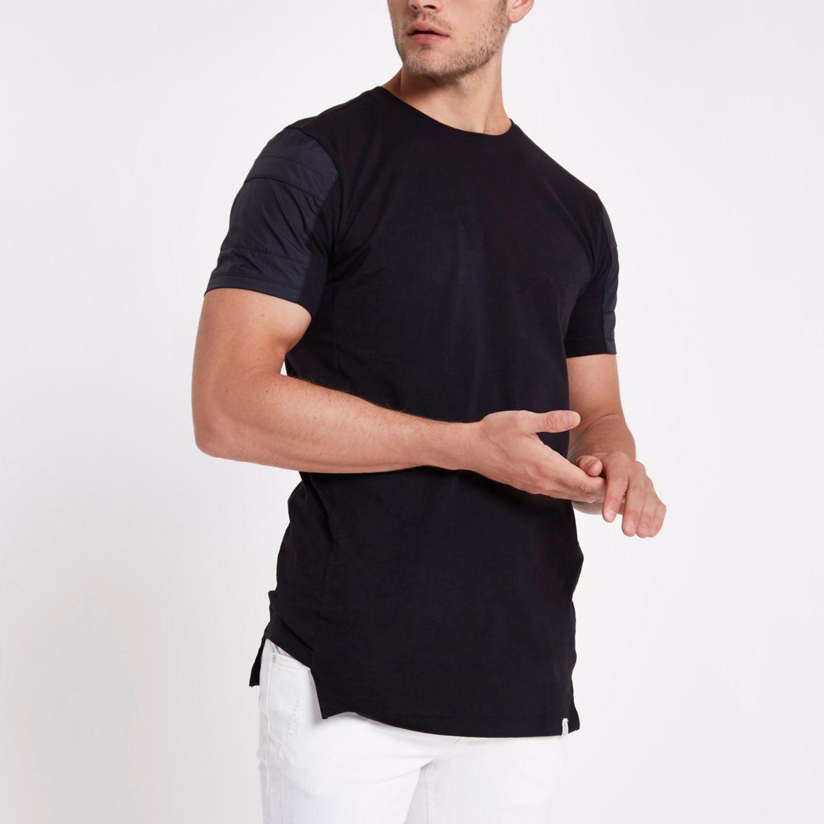 Jack & Jones black crew neck T-shirt