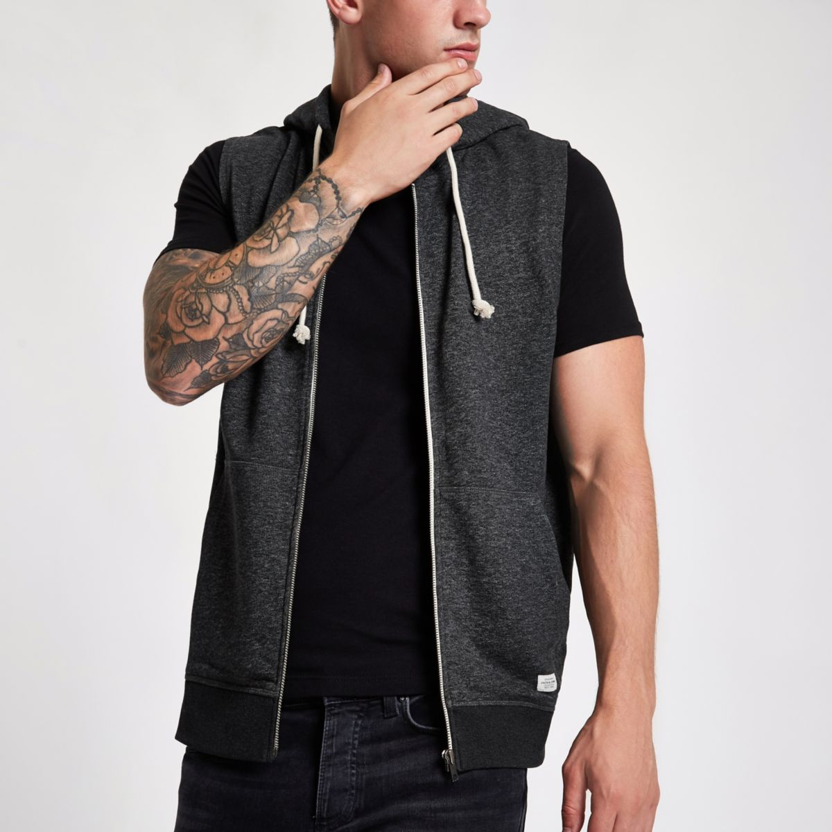 Jack & Jones Originals black hoodie