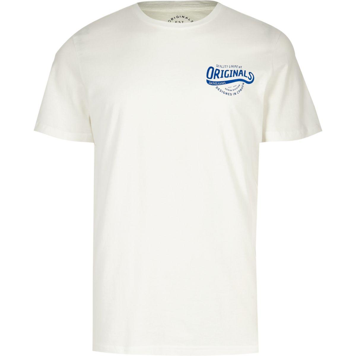 T white amp; Jones print Originals shirt Jack 14awqTnpW4
