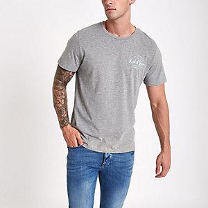 Jack & Jones - T-shirt Originals gris