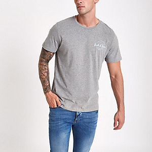 Jack & Jones Originals - Grijs T-shirt