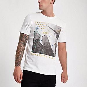 Jack & Jones Originals – T-shirt à imprimé ville