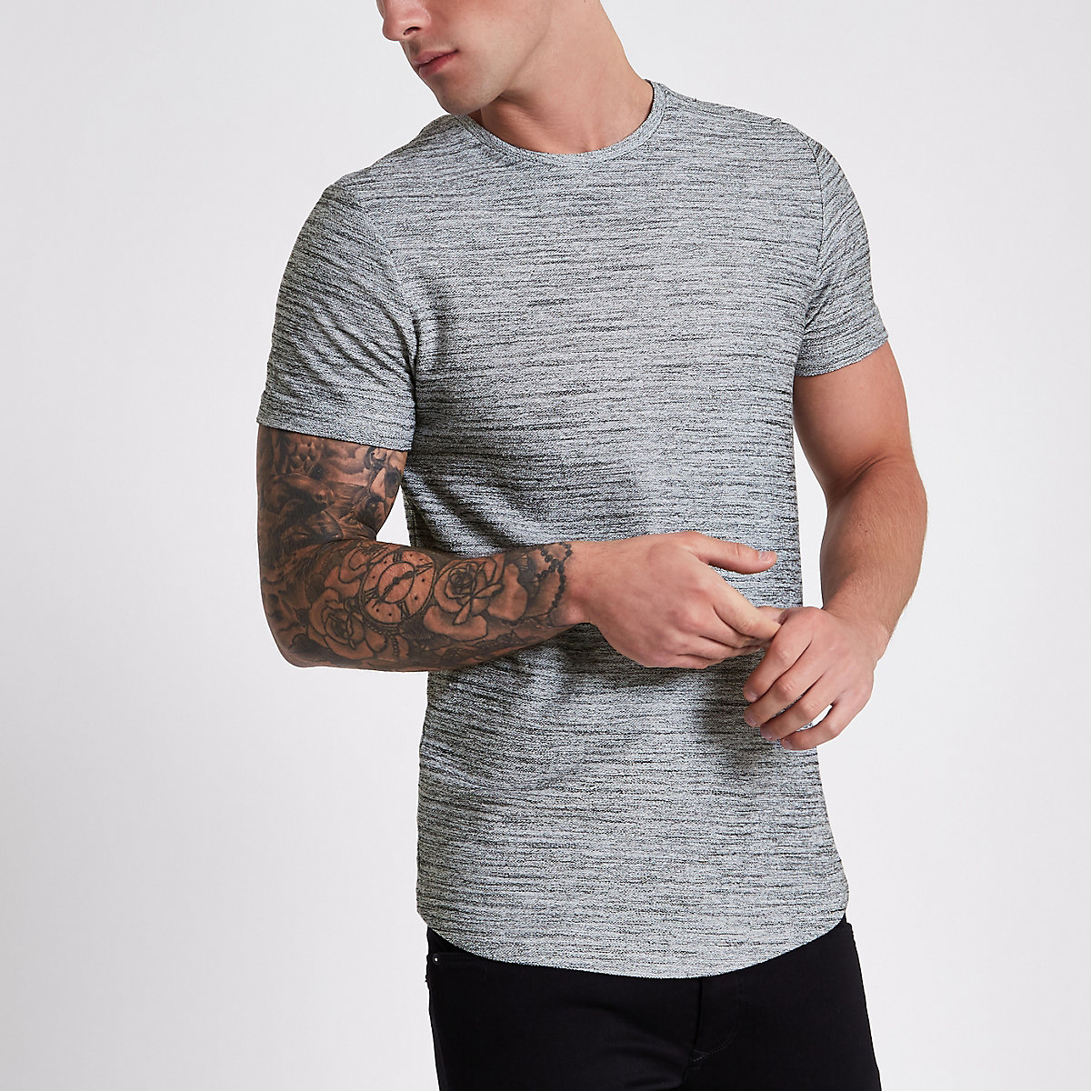 Jack & Jones Premium grey T-shirt