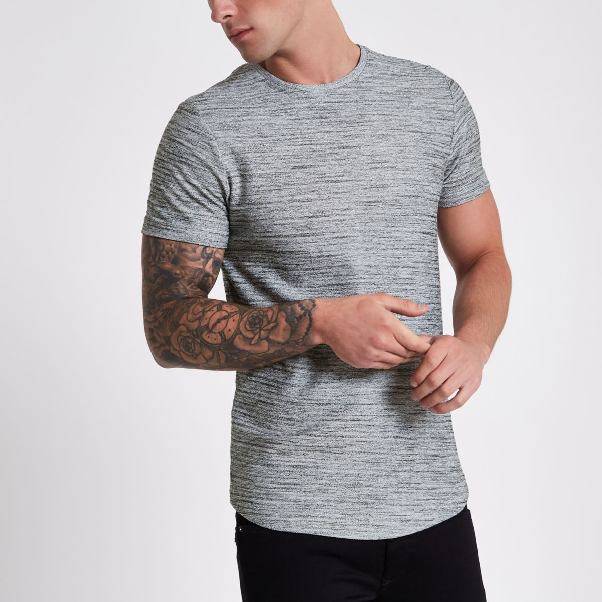 Jack & Jones Premium grey T-shirt