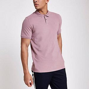 Jack & Jones Premium – Rosa Poloshirt