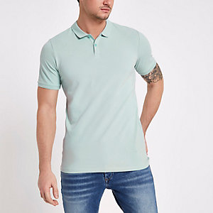 Jack & Jones Premium green polo shirt