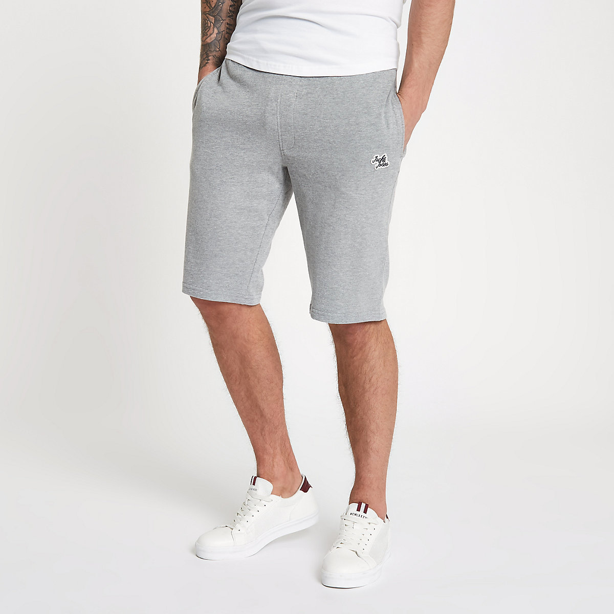 Jack & Jones Originals grey shorts