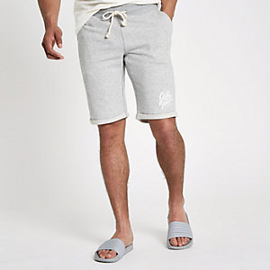 Jack & Jones Originals grey shorts