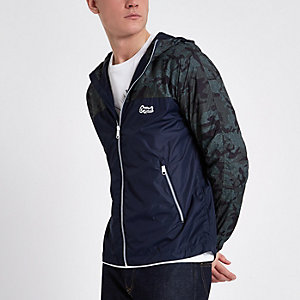 Jack & Jones Originals - Veste camouflage verte