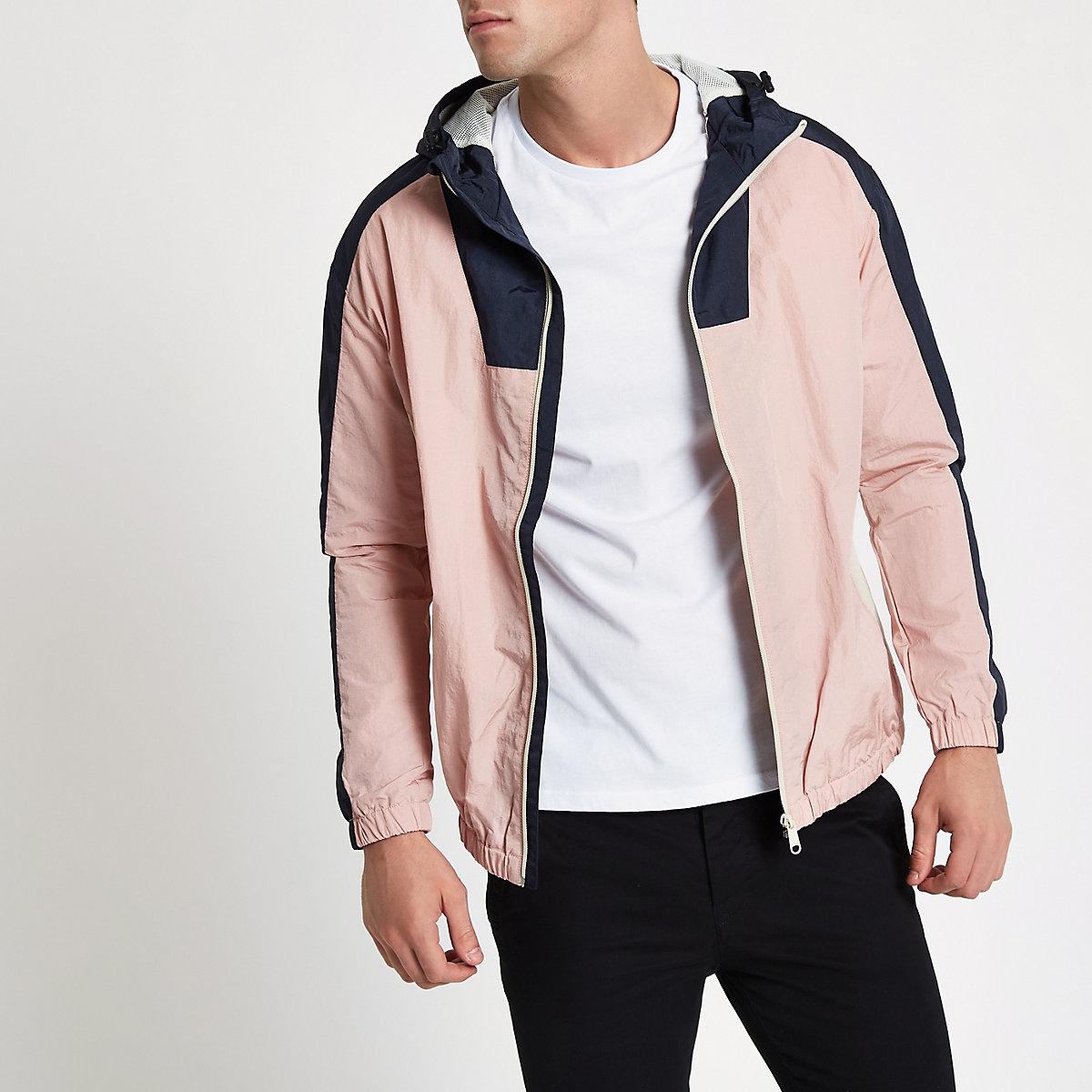 Jack & Jones pink Originals jacket