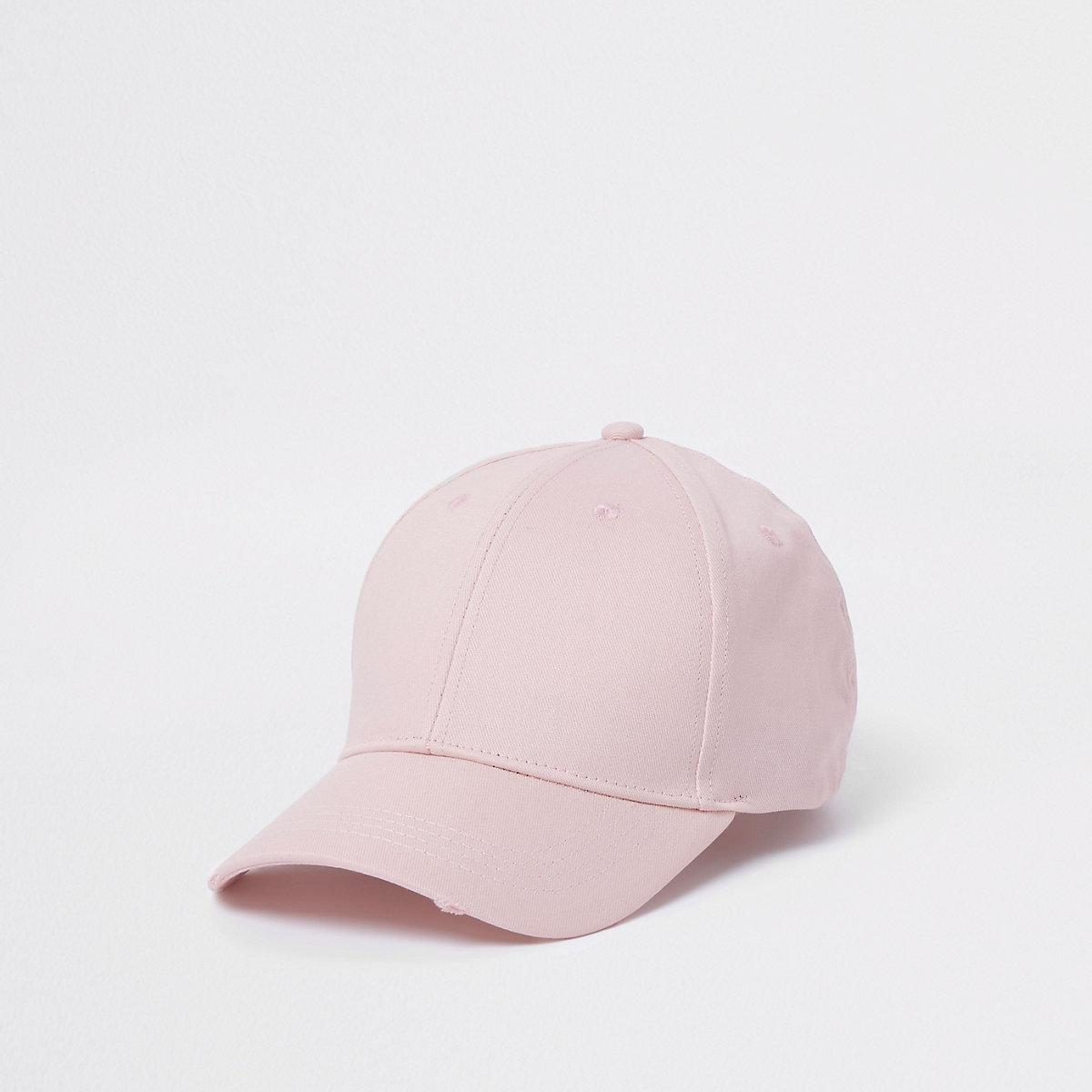 Light pink baseball cap