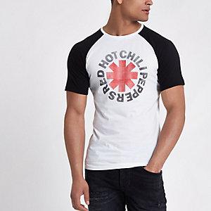 Only & Sons - Zwart aansluitend T-shirt